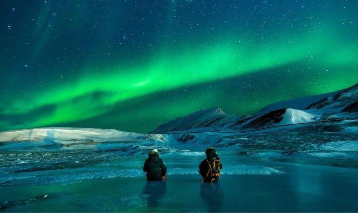 var i sverige kan man se norrsken