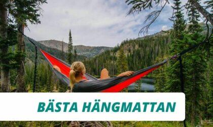Bästa hängmattan för vandring 2021 (Bäst i test)