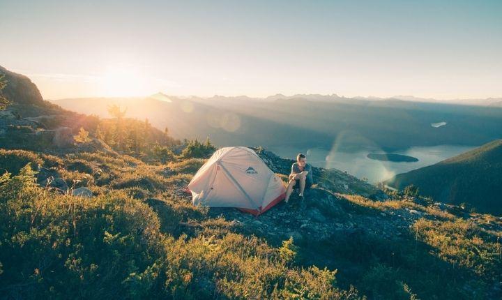 tält för vandring