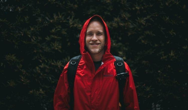 vandra när det regnar