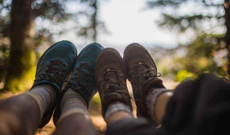 vandringskängor eller skor